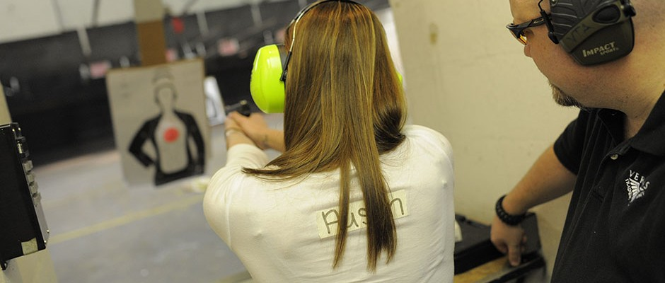 Training with a pistol